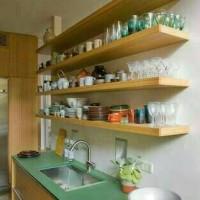 Floating shelf/Rak dinding minimalis Uk.120x15x4 (1pcs)