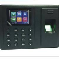 Alat Absensi Karyawan Pegawai Memiliki Port USB Untuk Transfer Data
