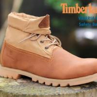 Sepatu Timberland Valeria Safety Boots Ujung Besi Tan Outdoors Kerja