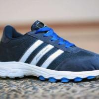 Sepatu Adidas Samba Classic Vintafe Biru Pria Fitnes/Gym Style Sporty