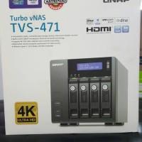 QNAP NAS TVS-471-i3-4G - Intel Core i3 4150 3.5 GHz Dual Core, 4GB RAM