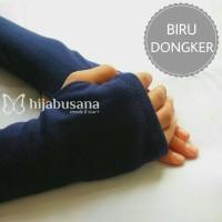 Handsock Manset Jari/Jempol/Fingerless/Sarung Tangan (Bahan Kaos)