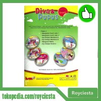 Paket Vcd Seri Pendidikan Anak - Diva Dan Pupus Vol 2