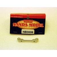 NB3006 Rc Car NANDA 1/10 PIVOT BLOCK 2.5 ALUMINUM NRX10D
