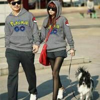 Jual Couple Sweater Hoodie Pokemon Go Misty Murah