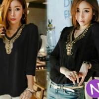 harga loose blouse anita payet Tokopedia.com