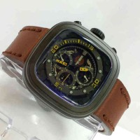 Jam Tangan Harley Davidson 0281 Dark Brown Black
