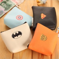 Dompet Koin Wallet Purse Mini Kulit Imitasi Superhero Pahlawan Super 2