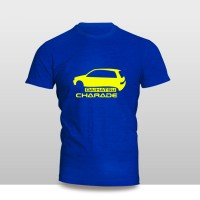 Kaos Baju Pakaian MOBIL DAIHATSU CHARADE SILUET Murah