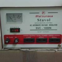 harga Stabilizer MOTOR Stabiliser Matsunaga 1000VA 1000 VA STAVOL Tokopedia.com
