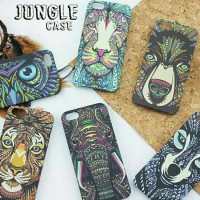 jungle case casing iphone 4/5/6/6+/samsung grand 2/prime/s4/s5/note3