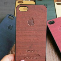 Jual wooden case hp iphone 4/4s/5/5s Murah