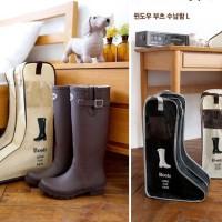 Amazing Travel Boots Shoe Shoes Storage Bag Cover Tas Sepatu organizer