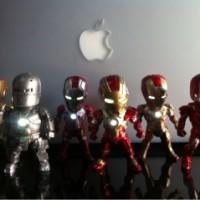 Figure Iron Man Kids Nation / Kids Logic Set Of 6pcs