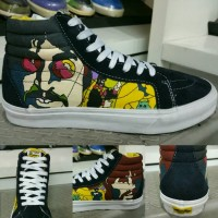 Vans SK8High The Beatles Yellow Submarine Color : Yellow Darkblue
