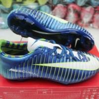 sepatu Bola Nike Mercurial biru KW Super (soccer,bola)