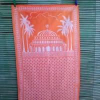 Sajadah kain batik print
