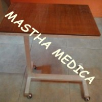Meja Mayo Kayu Over Bed Table Meja makan pasien rumah sakit