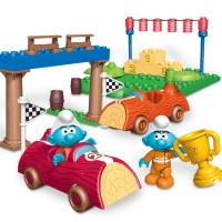 RACIN' SMURF / LEGO / ORIGINAL / Koleksi / Hobi / Mainan / MEGA BLOKS
