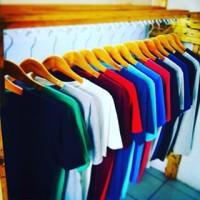 Kaos Polos Oblong Wanita -  Bahan Halus - 100% Cotton Combed