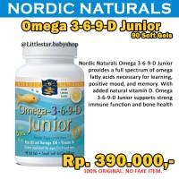Nordic Naturals Omega 3-6-9-D Junior 90 Soft Gels