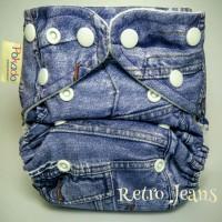 Pokado motif > clodi,paket hemat,pahe, murah, jeans, pink, owl, bayi