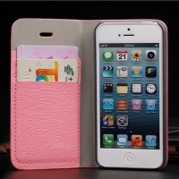 FLIP COVER WALLET CASE LEATHER FOR IPHONE 5C 5 C