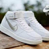Sepatu Wanita Casual Nike Air Force One High Made In Vietnam Murah #1