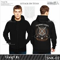Jual Jaket Anime = Attack On Titan (new) Murah