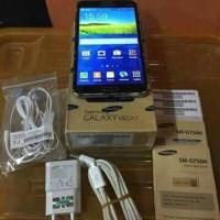 samsung Mega 2 SM-G750 DUAL SIM Black Fullset sein original murah