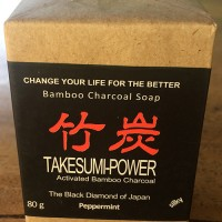 Takesumi Soap/Bamboo Charcoal Soap Peppermint