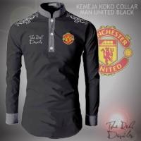 Kemeja Koko Collar Manchester United / MU