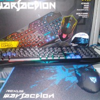 Keyboard game combo mouse Rexus WARFACTION VR1