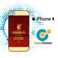 Liverpool FC Red Case, Cover, Hardcase Iphone 4