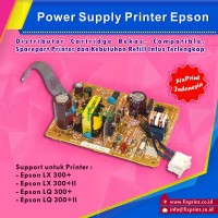 Power Supply Printer Epson LX-300+ LQ-300+ LQ-300+II LX300+ll, Adaptor