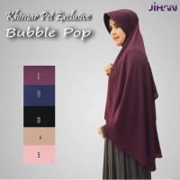 PROMO (17-25 Agustus 2016) Khimar Pet Exclusive Bubble Pop