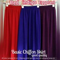 harga Good Quality Rok Sifon Chiffon Skirt Tokopedia.com