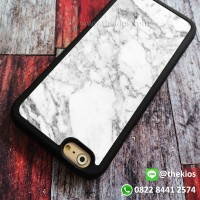 White Marble Casing iPhone 7 6s Plus 5s 5C 4s cases, Samsung case Dll
