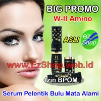 WII Amino 1 Botol Serum Penumbuh Bulu Alis Mata Alami Asli Ez Shop