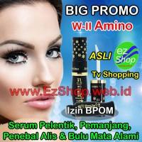 W-II Amino 1 Botol Serum Pemanjang Bulu Mata Alami Asli Ez Shop