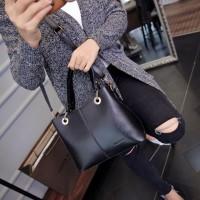 Tas Selempang Handbag Cantik 93331 Black Luxury