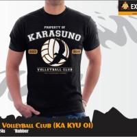 KAOS KARASUNO VOLLEYBALL CLUB HAIKYUU [KA KYU 01]