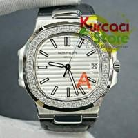 Jam Tangan Patek Philippe Ksw Nautilus Diamond Swiss Made