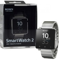 SONY Smartwatch 2 SW2 SW 2 With Steel Metal WristBand ORIGINAL