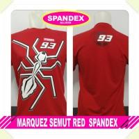 kaos spandex merah marc marquez semut red mm93 baby alien moto GP