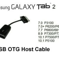 Kabel Usb Tablet OTG ( On The Go )| Samsung Galaxy Tablet Tab 1/2 OTG