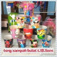 harga TONG TEMPAT SAMPAH Wadah SERBAGUNA BUNDAR Souvenir Ulang Tahun Anak Tokopedia.com