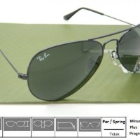 harga Kacamata Original Sunglass RayBan RB3025 L2823 58 Tokopedia.com