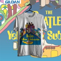 The Beatles - Yellow Submarine Kaos Band Original Gildan