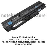 Baterai Laptop TOSHIBA NB500, NB505, NB515, NB520, NB525, NB550